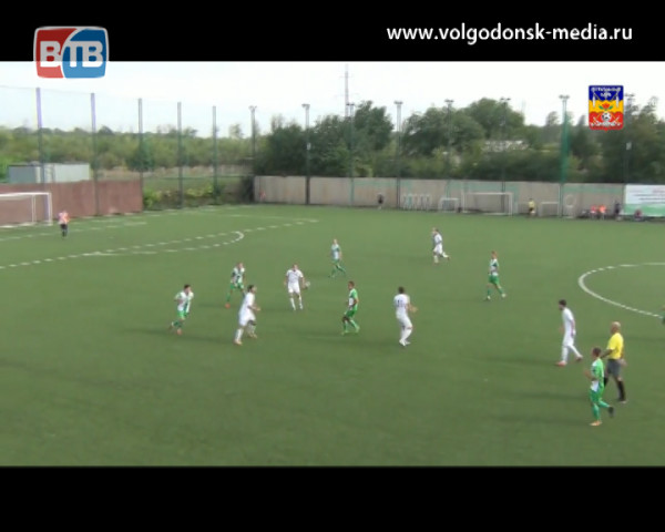 ФК «Волгодонск» допустил еще одну ошибку в Чемпионате Ростовской области по футболу