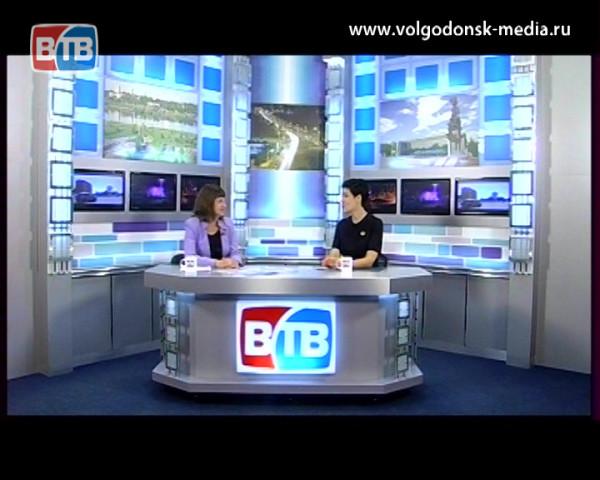 Гость студии новости ВТВ начальник отдела культуры Волгодонска — Лариса Пушкина