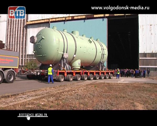 Из Волгодонска в Индию. Оборудование Атоммаша проделает путь в 21 тысячу километров, чтобы занять свое место на АЭС «Куданкулам»