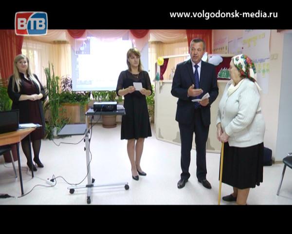 В Волгодонске реализуется уникальный социальный проект с участием пожилых волонтеров