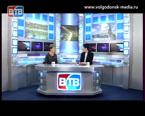 Гость в студии ВТВ заместитель начальника отдела государственной статистики Волгодонска — Ирина Шерстнева