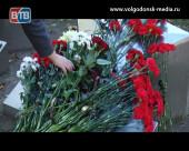 Волгодонск почтил память трагически погибших в Керчи