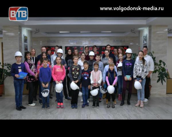 150 детей работников Ростовской АЭС посетили папину и мамину работу
