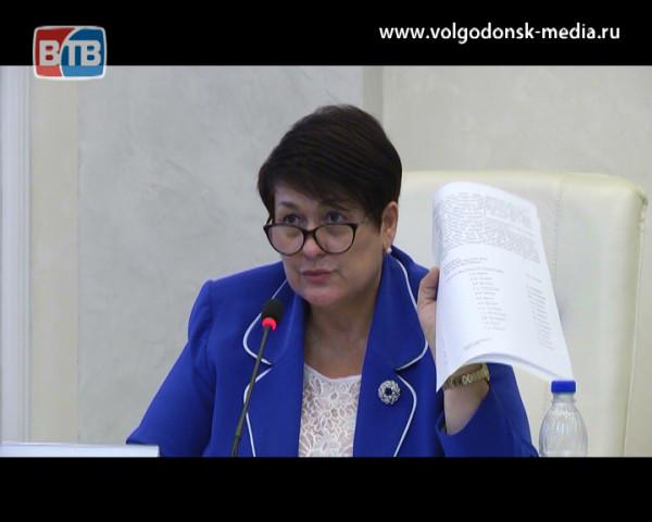 Волгодонская городская дума подвела итоги работы за месяц