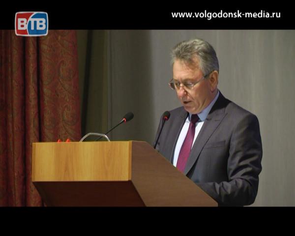 Глава Администрации Волгодонска Виктор Мельников отчитался об итогах развития города в 2018 году