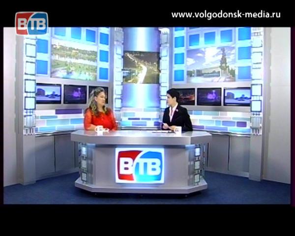 Гость в студии ВТВ — председатель общественной организации «Семья Волгодонска», многодетная мама —  Светлана Зяблова