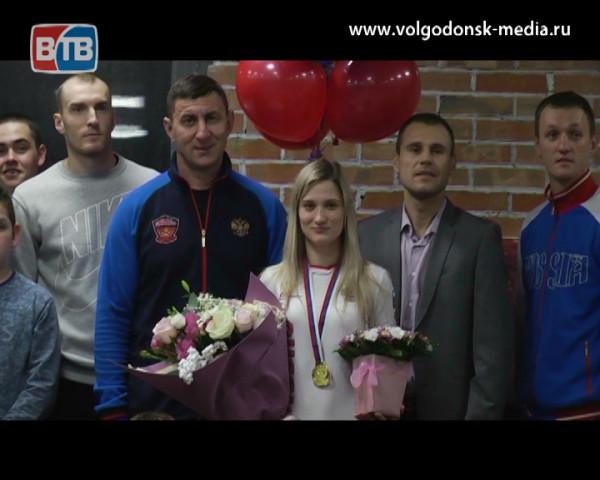 Первая среди равных. Волгодончанка Анна Новикова стала чемпионкой России по рукопашному бою