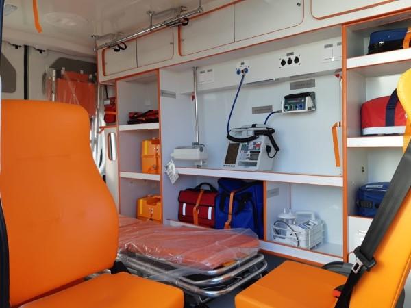 Волгодонск получил три новых машины скорой помощи