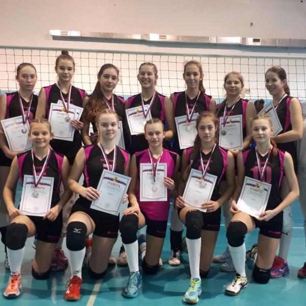 Сборная команда Ростовской области – серебряный призер первенства России по волейболу
