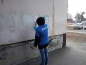 «Донцы» приступили к уничтожению надписей о продаже наркосодержащих препаратов