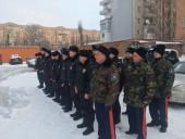 Казачьи дружинники Волгодонска помогают полицейским в охране общественного порядка