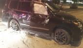 В Ростовской области водитель «Лексуса» выехал на газон и перевернулся