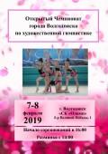 Открытый Чемпионат города Волгодонска по художественной гимнастике
