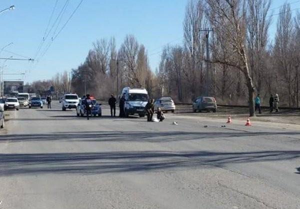 Появились кадры с места ДТП в Волгодонске с погибшей 12-летней девочкой