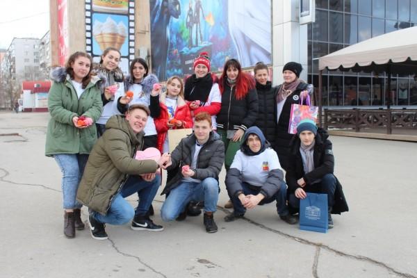 Отдел по молодежной политике провел акцию «Вам, любимые!»