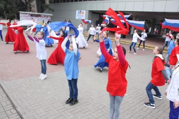 «Крым и Россия вместе!»: Волгодонск отметил пятилетие воссоединения Крыма с Россией