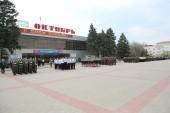 «Мы – будущее России!»: 22 отряда прияли участие в городском смотре строя и песни