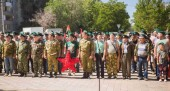 Волгодонск отметил День пограничника митингом и маршем ветеранов службы