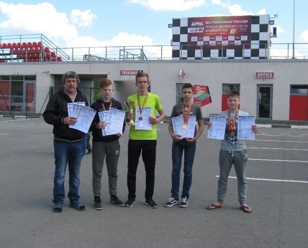 Команда автомоделистов Волгодонской СЮТ стал лучшей на областных соревнованиях по автомодельному спорту