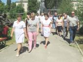 Маршруты здоровья: в горбольнице № 1 организовали «тропу здоровья»