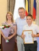Глава администрации наградил спортсменов, занявших в Спартакиаде Дона первые места