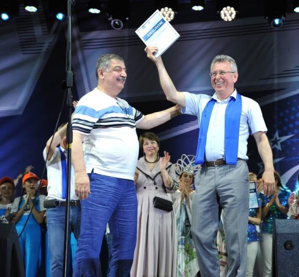 На форуме «Созвездие городов «Росэнергоатома» Волгодонск получил денежные призы и подарки от концерна