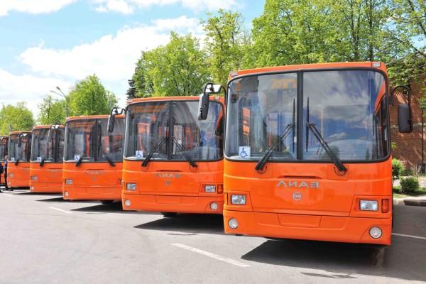 До конца года Волгодонск за счет областных средств должен получить 11 новых автобусов
