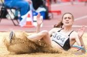 Валерия Воловликова завоевала на первенстве России по легкой атлетике «золото» и «серебро»