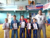 Волгодонские дзюдоисты завоевали пять наград высшей пробы на открытом первенстве в Таганроге
