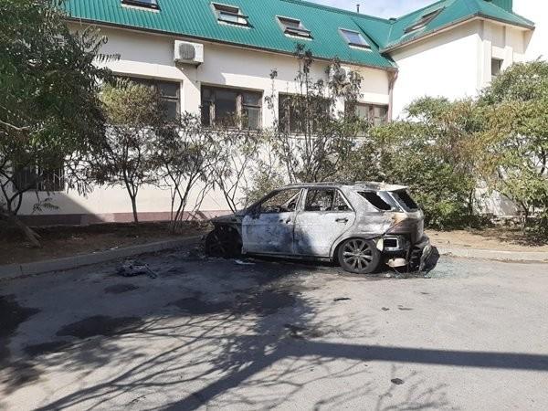 В Волгодонске взорвался припаркованный автомобиль