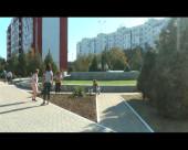 Субботник около памятника жертвам террористического акта