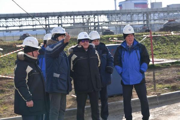 На площадке Ростовской АЭС началась закладка фундамента под будущие вентиляторные градирни энергоблока №3