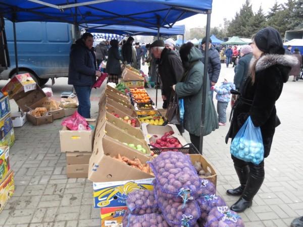 16 ноября — ярмарка «выходного дня» по продаже пищевой и сельскохозяйственной продукции