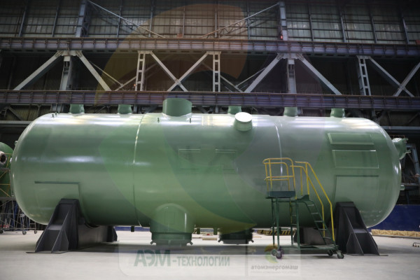 Атоммаш изготовил комплект парогенераторов для 4-го энергоблока АЭС Куданкулам в Индии