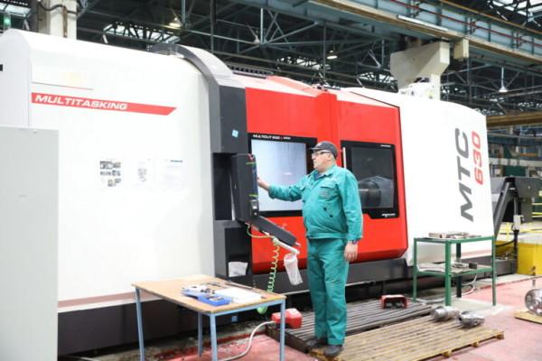 Станочный парк Атоммаша пополнился новым оборудованием