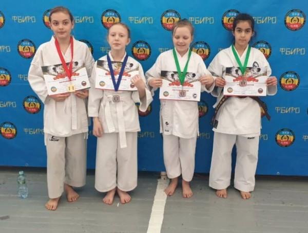 17 воспитанников волгодонских клубов заняли призовые места в открытых областных соревнований по всестилевому каратэ