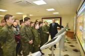 Будущие защитники Отечества – кадеты Орловского кадетского казачьего корпуса узнали, как обеспечена энергетическая безопасность страны