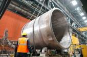 На Атоммаше завершили сварку нижнего полукорпуса реактора нового типа для Курской АЭС-2
