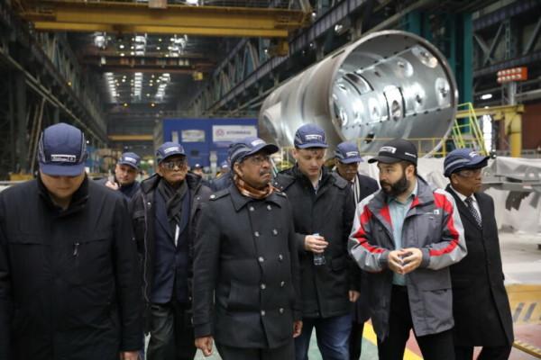 На Атоммаше министр науки и технологии народной республики Бангладеш проинспектировал ход изготовления оборудования АЭС