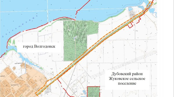 В Волгодонске продолжается реконструкция подъездной автомобильной дороги к Ростовской АЭС. Протяженность объекта — 12,6 км по Жуковскому шоссе от пересечения с проспектом Мира до РоАЭС