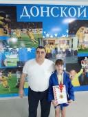 Кристина Тутберидзе выиграла первенство Ростовской области по самбо