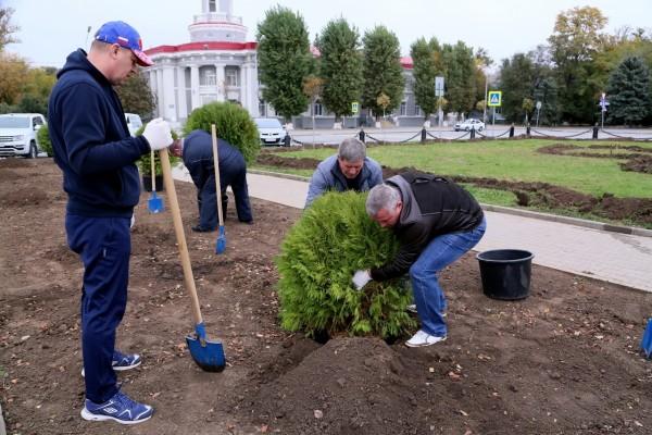 На 11 апреля в Волгодонске запланирован весенний День древонасаждений