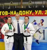 Пять волгодонских спортивных клубов приняли участие в открытом Всероссийском турнире каратэ IKU