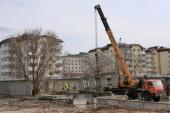 Началось строительство школы в квартале В-9: она должна быть введена в эксплуатацию до конца 2021 года