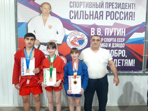 XV Олимпиада Дона по самбо среди юношей и девушек