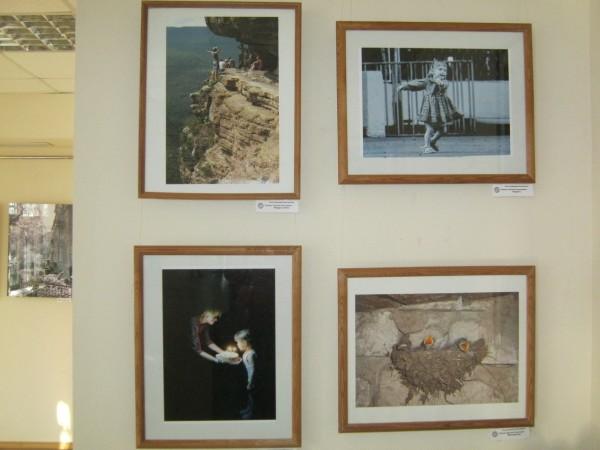 16 марта в литературной гостиной центральной библиотеки под эгидой ГОО «Союз художников Волгодонска» открылась фотовыставка Ретро+Перспектива.