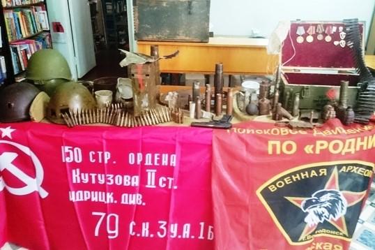 Сегодня в библиотеке №10 прошёл час военной истории «Ратная слава Дона»