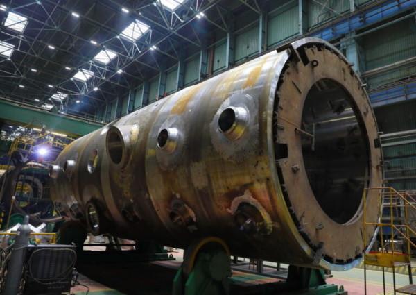 На Атоммаше изготовлен первый комплект корпусов парогенераторов
