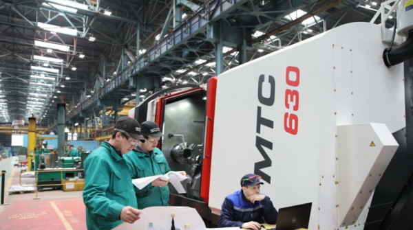 Механический участок Атоммаша оснащен новым обрабатывающим центром