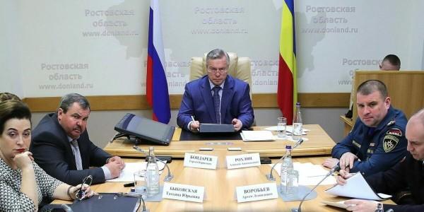 Донской губернатор распорядился ужесточить меры против коронавируса